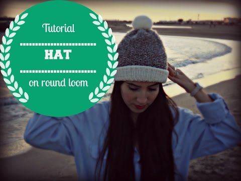 How To Loom Knit A Bicolor Mini Hearts Spiral Hat Diy Tutorial