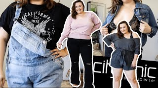 PLUS SIZE LOUNGEWEAR & CASUAL TRY ON HAUL 2020 // CITY CHIC AUSTRALIA AD