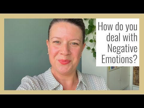 Anger. Fear. Sadness - how to deal with these difficult emotions