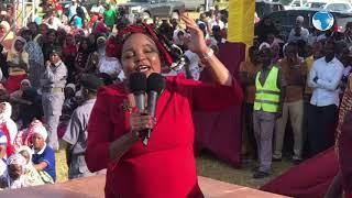 Kirinyaga Women Rep Ngirici Wangui slams Maina Kamanda over his