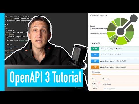 OpenAPI 3 Tutorial - API Beschreibung mit Swagger - Kompletter Kurs
