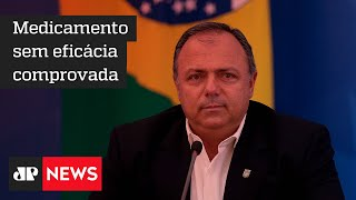 TCU amplia prazo para Pazuello esclarecer posição sobre uso de cloroquina contra a Covid-19