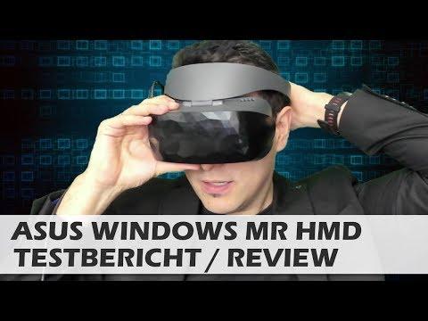Asus Windows Mixed Reality VR Brille - Review - Testbericht - [deutsch]