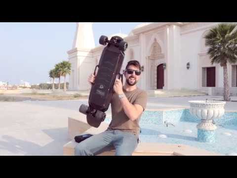 ENERTION RAPTOR 2 SKATEBOARD REVIEW | VIDEO BLOG #26 | FUJAIRAH ELECTRIC LONGBOARD UAE SKATE