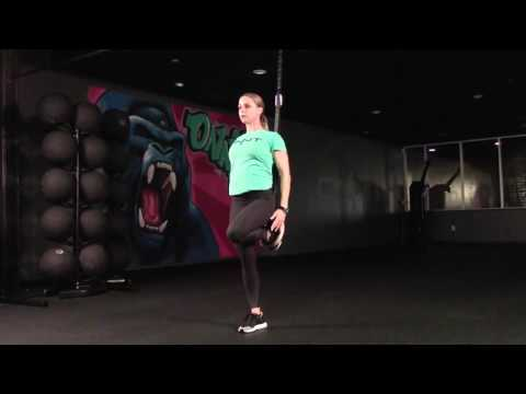 Standing Warrior 2 Suspension Exercise