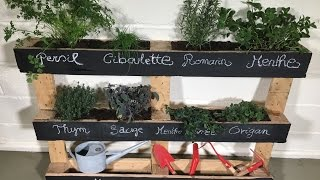 Tuto brico : comment fabriquer une jardinière en palette