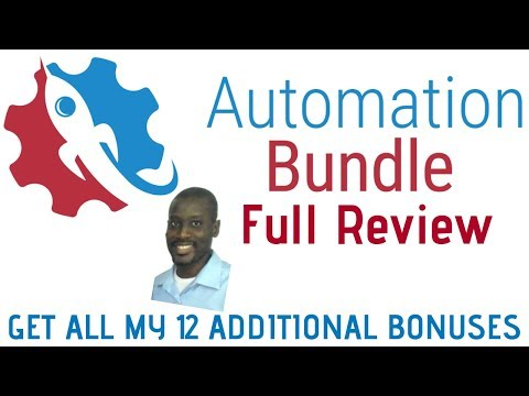 Automation Bundle  Review | Full Insights Of All 12 Apps and Upsells | Get My 12 Super Bonus  Pack