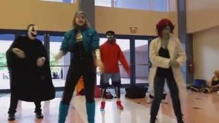 [UNDERTALE] Dancetale Routine As Performed By The Underswap Crew