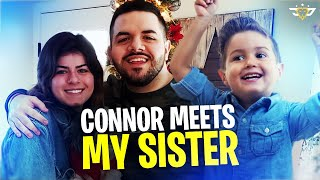 CONNOR MEETS MY SISTER! WE YELLED AT HER! (Fortnite: Battle Royale)