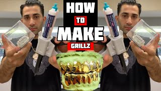 How to MAKE GRILLZ : Molding Grillz!