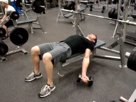 Lying Dumbbell Curls