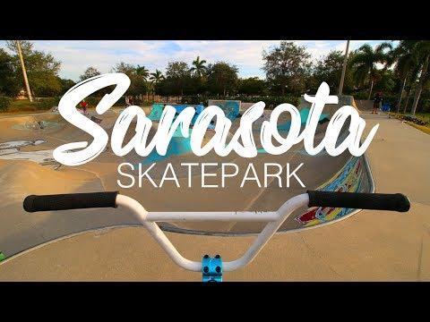 BEST SKATEPARK IN FLORIDA! // Sarasota Skatepark