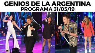 Genios de la Argentina en Showmatch - Programa completo 31/05/19
