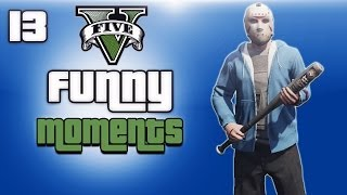 GTA 5 Online Funny Moments Ep. 13 (H2O Vs Lui)