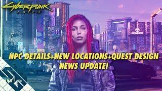 Cyberpunk 2077 News! CRAZY Realistic NPC