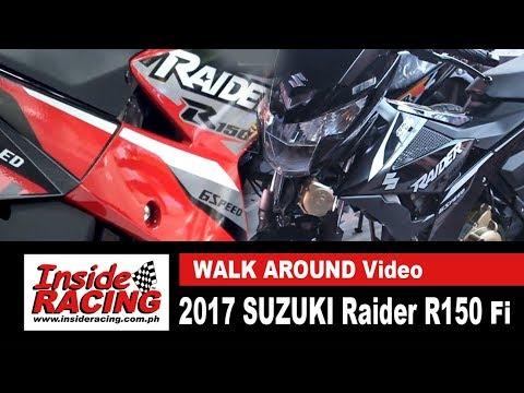 2017 Suzuki Raider R150 Fi