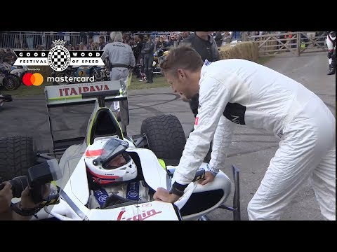 Top 25 Festival of Speed moments | Brawn GP's special return