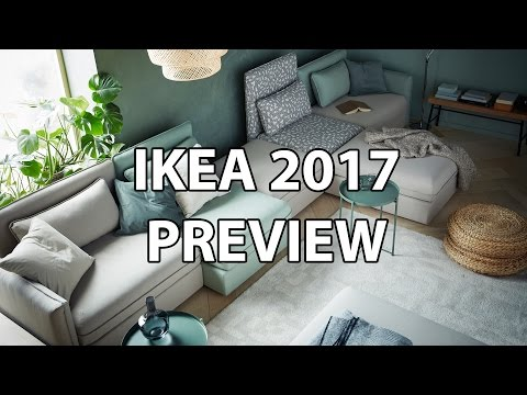 IKEA 2017 Catalog Preview – My Favorite New Products (Sofabed, Standing Desk, Tabletop)
