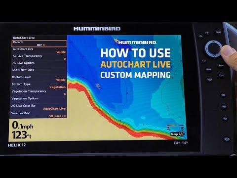 Humminbird PiranhaMAX 4 DI Down Imaging Fishfinder