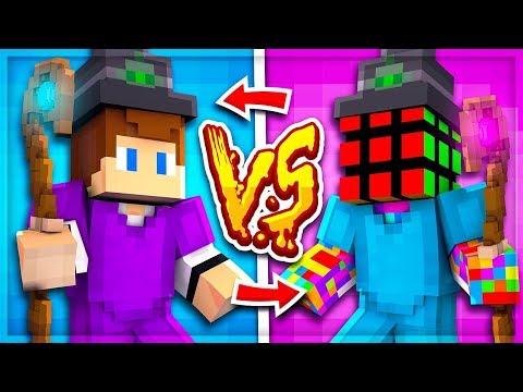CRAZY SKYBLOCK WAGER BATTLE VS MY MAIN ENEMY! (GODSET PVP) | Minecraft Skyblock