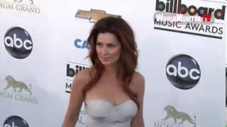 Shania Twain Debuts Her New Long Red Hair At The Billboard Awards
