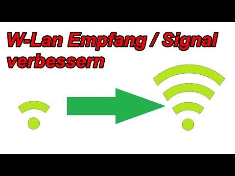 3 Tipps um das WLAN – Signal zu verbessern / W-LAN Reichweite erhöhen / Sendeleistung verstärken