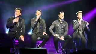 IL Divo 'Mama' live @ Genting Arena Birmingham 07.05.16  HD