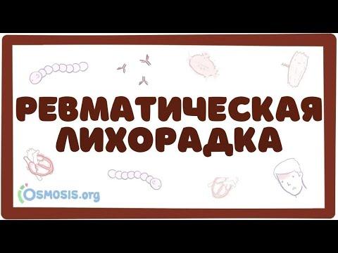 Острая ревматическая лихорадка - причины, симптомы (лекция)