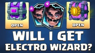 OH PLEASE! WILL I GET ELECTRO WIZARD? :: Clash Royale :: OPENING EPIC CHEST & GRAND CHEST
