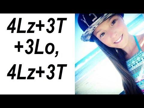 Anna SCHERBAKOVA - 4Lz+3T+3Lo, practice (Winter EYOF 2019) [UPDATED]
