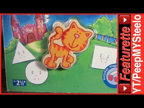 Haba Toys Story Board Book w/ Magnetic Interactive Wood Toy Cat For Creative Educational Learning