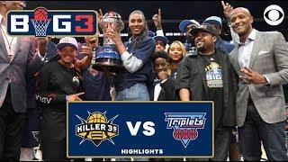 Joe Johnson leads Triplets to a Big 3 CHAMPIONSHIP | CBS Sports HQ
