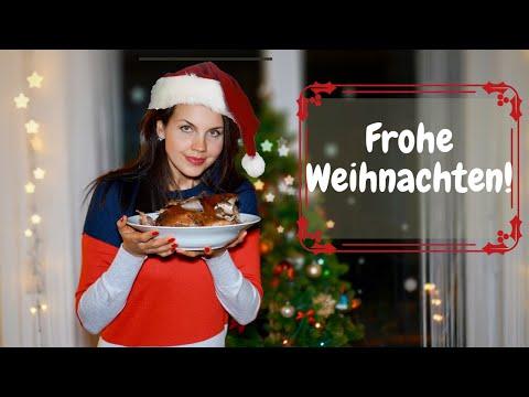 Рождество в Германии 2020. Подарки. Первый раз приготовила гуся