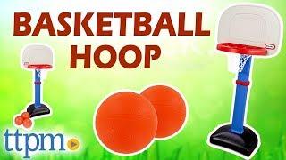 Little Tikes TotSports Easy Score Basketball Set - Baketball Hoop Review | MGA Entertainment