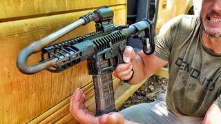 Firing a Gun with a REALLY Bent Barrel... Bad Idea?!?!
