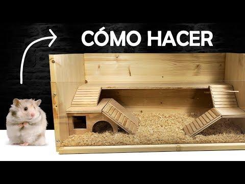 Cómo Hacer una Casita Para Mascotas Roedores | Terrario Casero