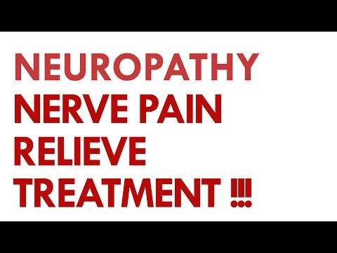 Video Neuropathy Nerve Pain Relief Treatment.