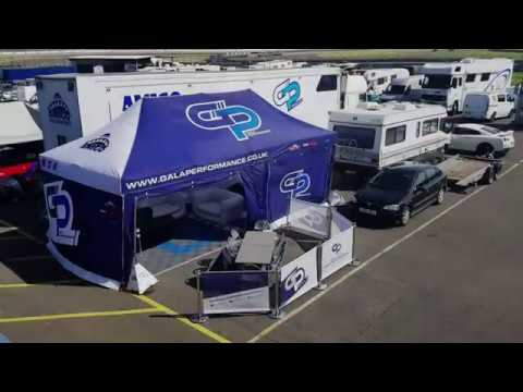 GP Motorsport Awning and Essential Equipment