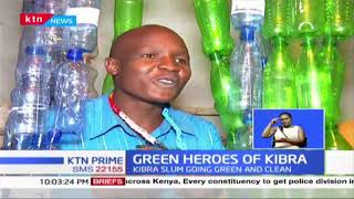 GREEN HEROES OF KIBRA: How the youth are turning the area clean and green