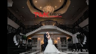 Spanish wedding DJ | Addison Park | TWK Events for Ruthy & Gerard's wedding in NJ.