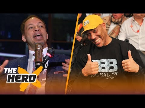 Chris Broussard on LeBron in Houston, LaVar ruining Lonzo's career and Westbrook | NBA | THE HERD