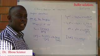 Buffers by Dr Bbosa Science
