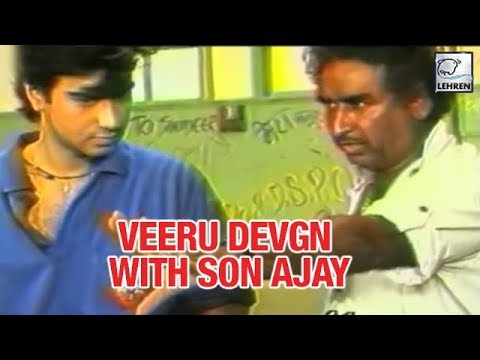 Ajay Devgn's Father Veeru Devgn Choreographing Stunts | Flashback Video