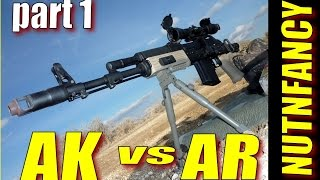 AK47 Vs AR15 Part 1 By Nutnfancy 2009
