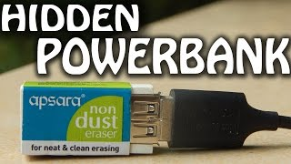 How to make power bank with RUBBER