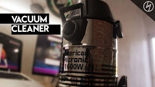 American Micronic 21 Litres // Vacuum Cleaner - Unboxing & Review | CreatorShed