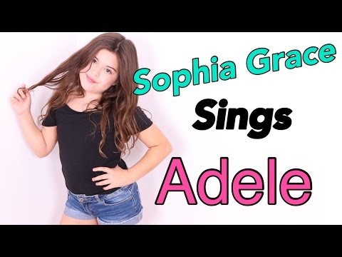 Sophia Grace | Sings Adele - Send My Love (To Your New Lover)