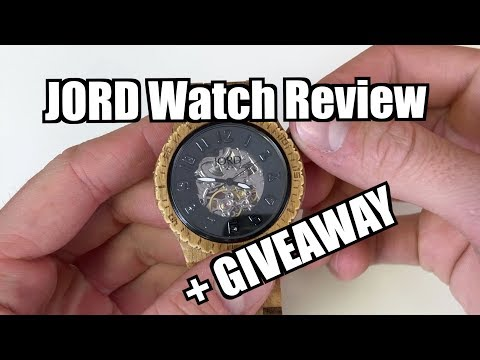 JORD Wooden Watch Review/Durability Test + GIVEAWAY! (CLOSED)