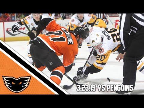 Penguins vs. Phantoms | Mar. 23, 2019