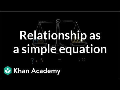 relationship equation